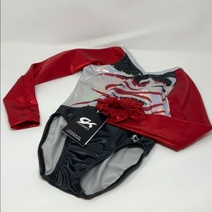 GK Elite Sportswear Long Sleeve Leotard